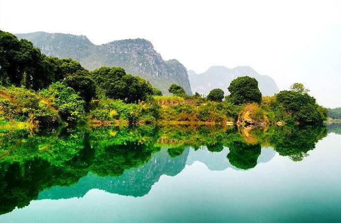 广西龙州风景