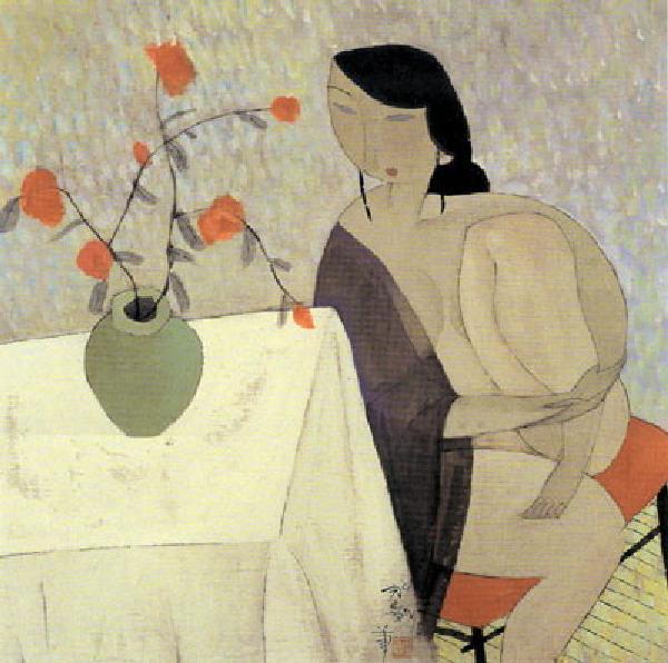 抽象艺术解读-胡永凯对女人的诠释 - 小小  - 小小 BLOG