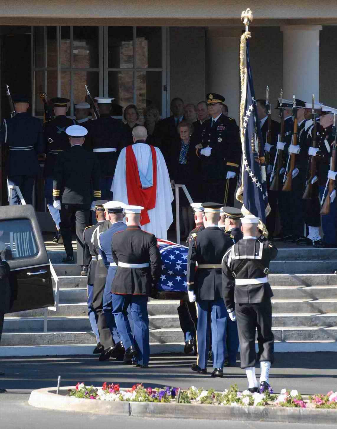 美国前总统福特的葬礼【组图】高清图片