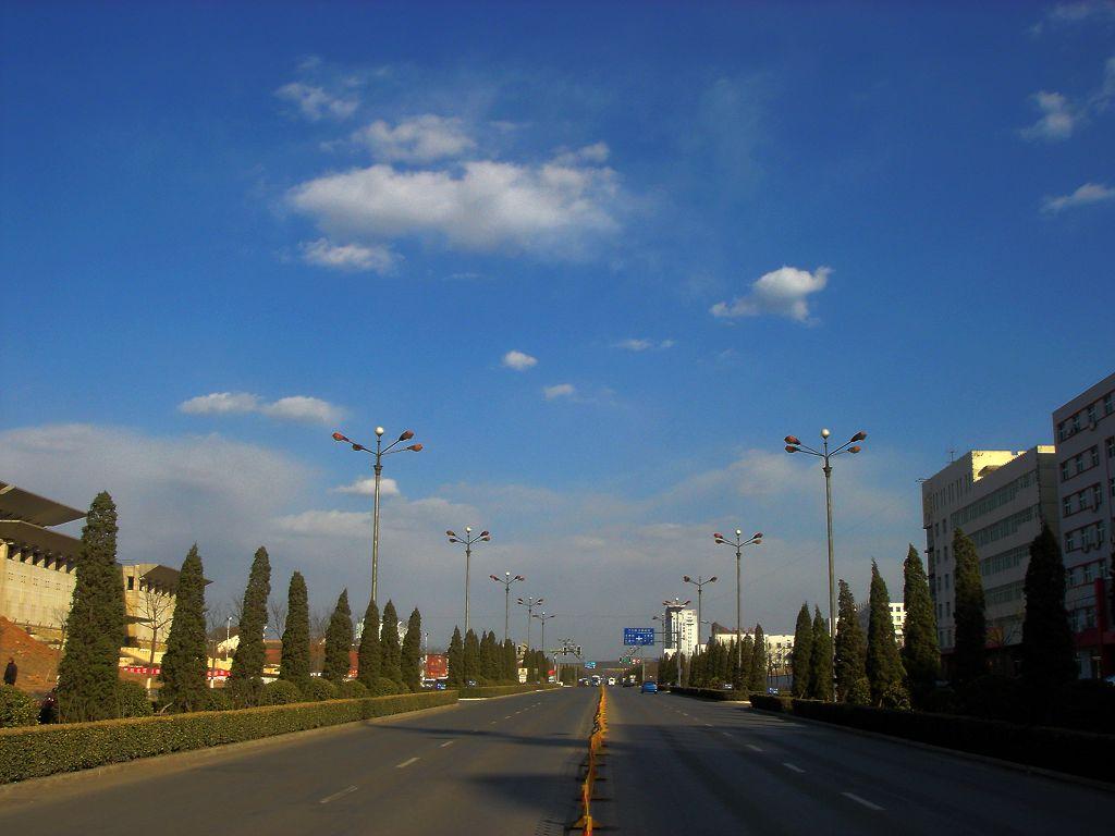 晋城城市街景实拍组图图片