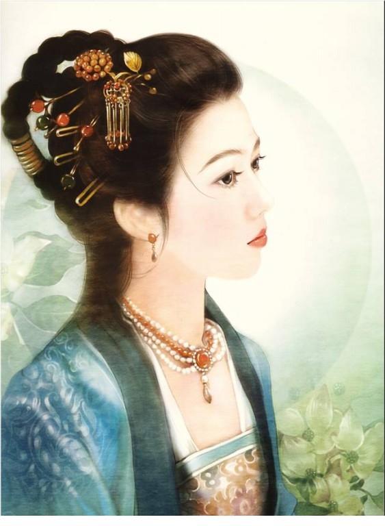 古装美女画