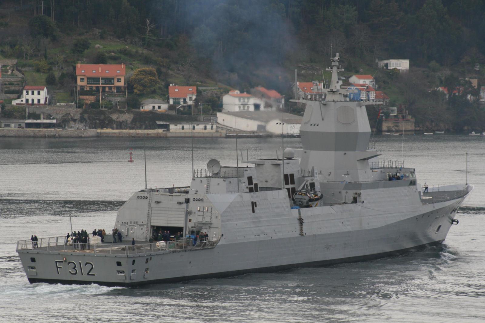 迷你盾 挪威南森级护卫舰