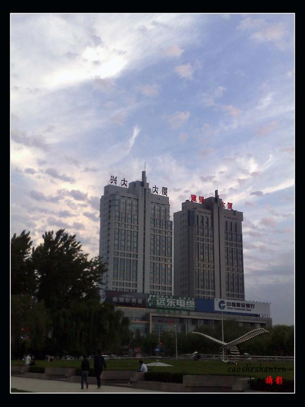 山东临沂拍到的地震云 高清图片