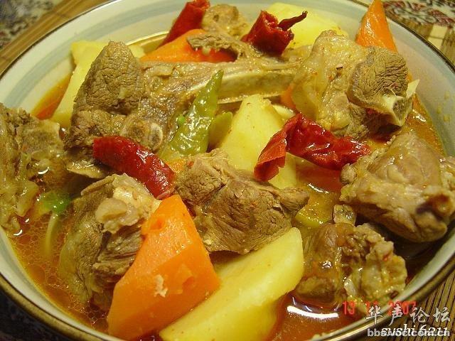 每天一菜 羊肉炖辣汤
