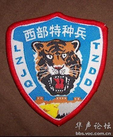 中国陆军特种部队暗色臂章-中国军队臂章胸薇识别大全图片