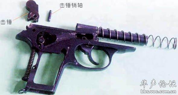 六式芬利尔-64式手枪内部结构之六   64式手枪走过了不平凡的40年,至今警察部门图片