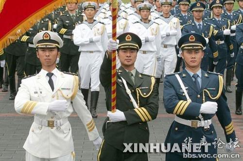 07式二炮军官军装-、最顺利的一次军服改革-解放军经历30年厉兵秣马战斗力获极大提升图片