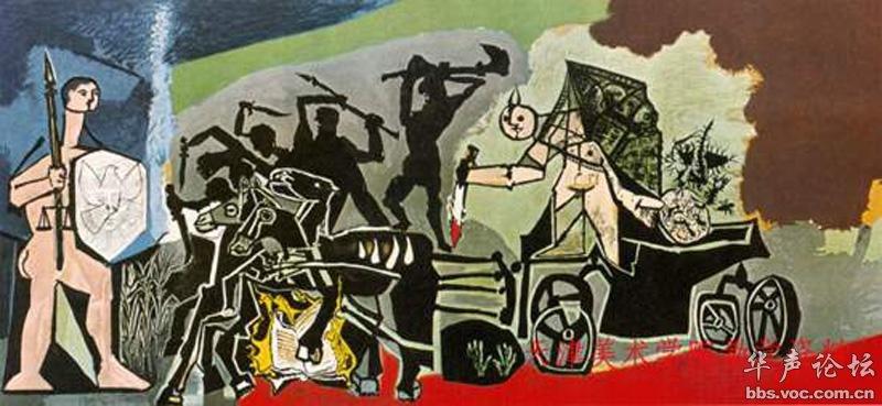 世界名画 五 西班牙画家毕加索作品选