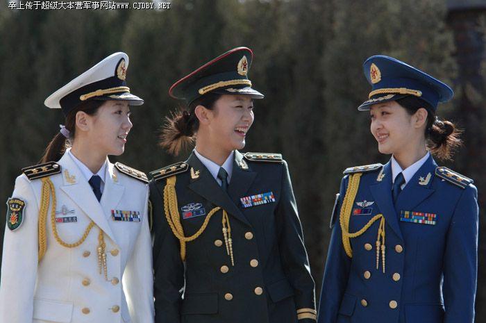 中国军队07式军服图片