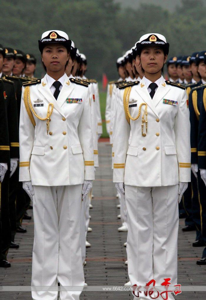 中国军人07式军服图片