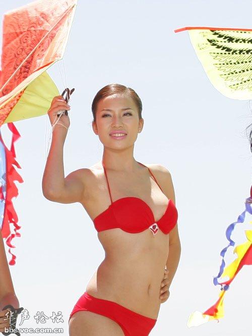 养眼越南小姐海边比基尼选美比赛 异域风情