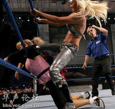 wwe女子摔角 高清图片