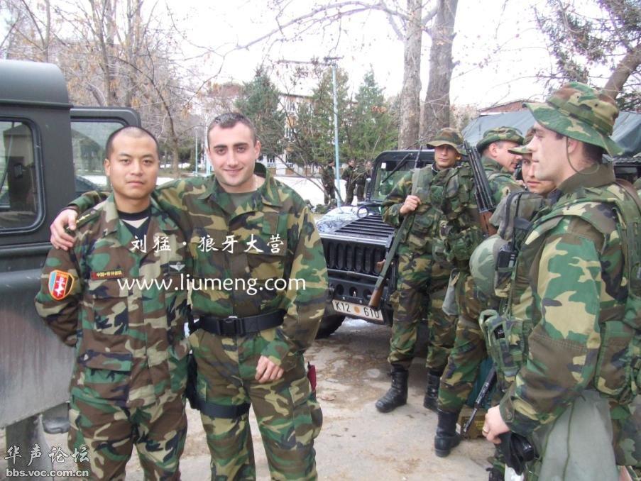 看这架势,中国特种部队军官出国交流图片