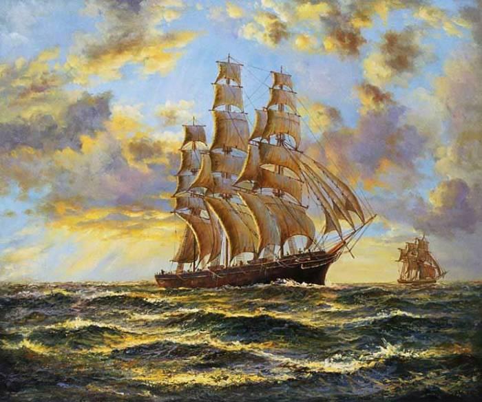 西方古典风景油画图片内容|西方古典风景油画图片版面设计
