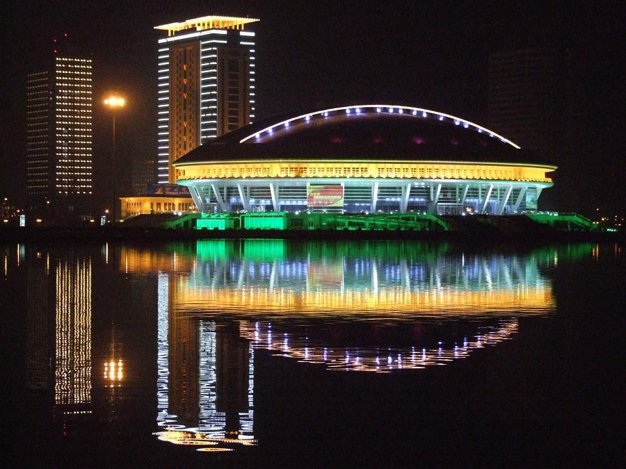 洛阳新区的美丽夜色