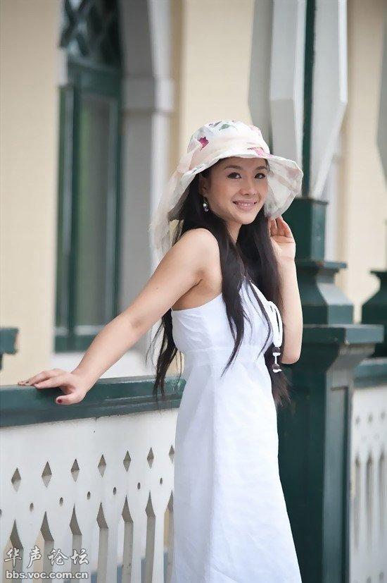 夏天就要穿裙!N多美女真人秀页 1 服饰潮流