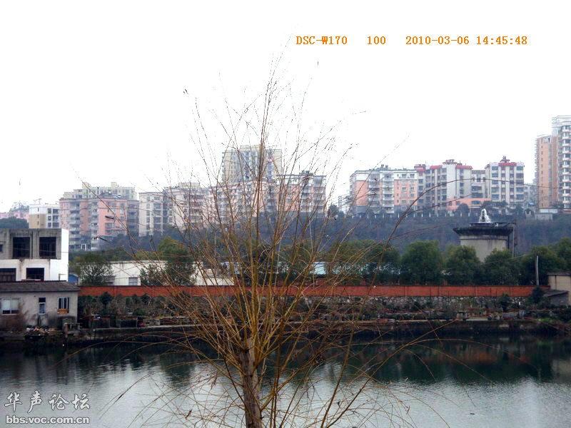 家乡的小河边