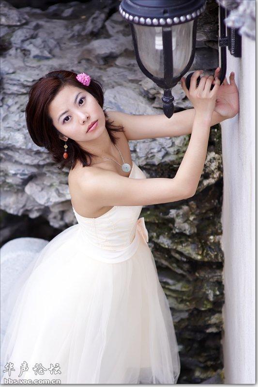 野外婚纱照 美女贴图
