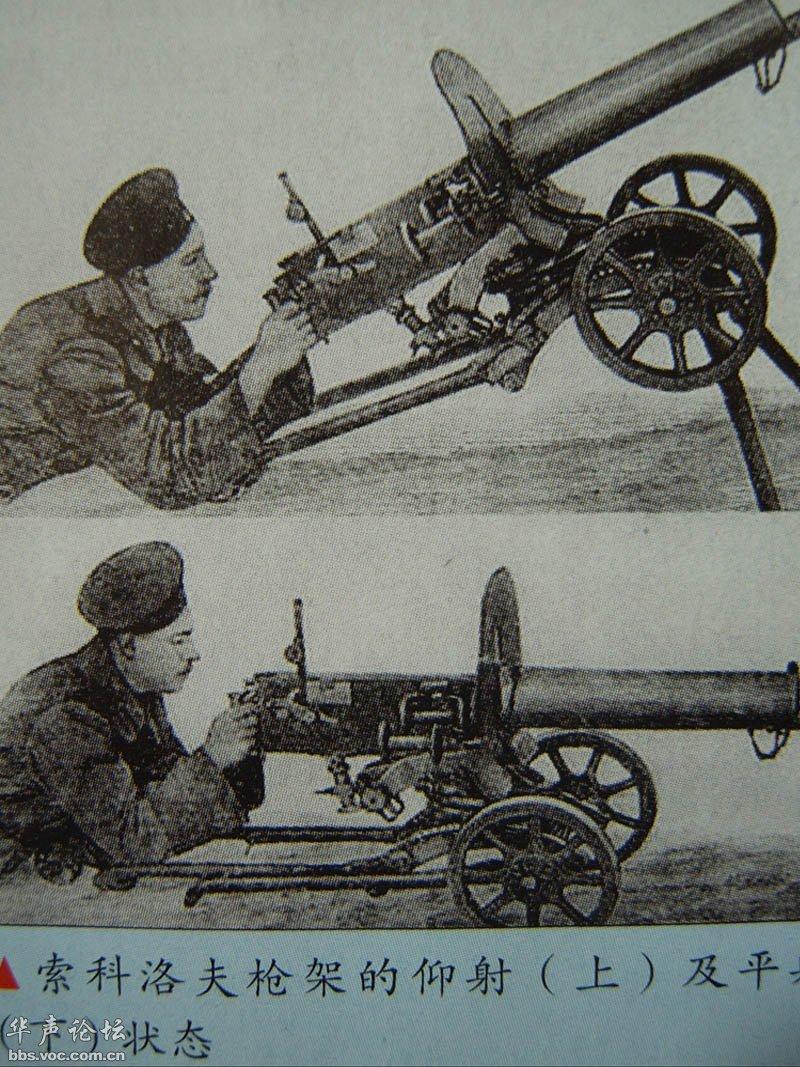 世界上第一种自动武器:马克沁重机枪!