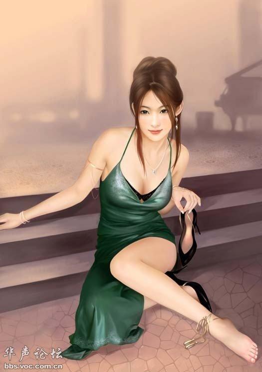 ◎:经典动漫 人物 手绘美女