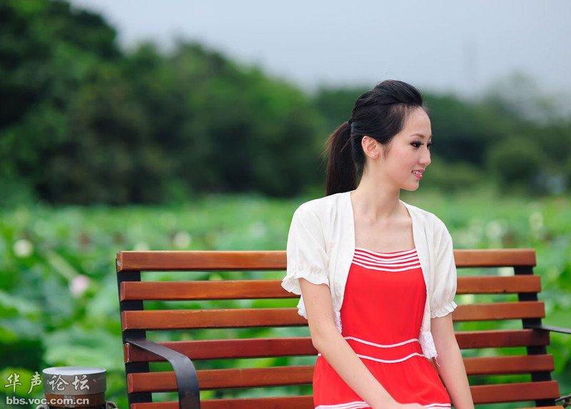 洪湖公园 萌萌的约会 美女贴图
