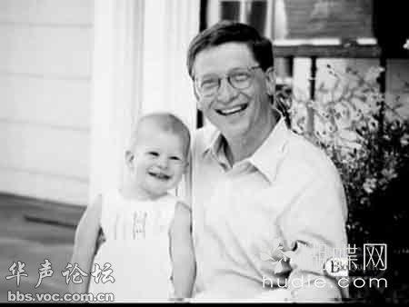 比尔盖茨的女儿图片