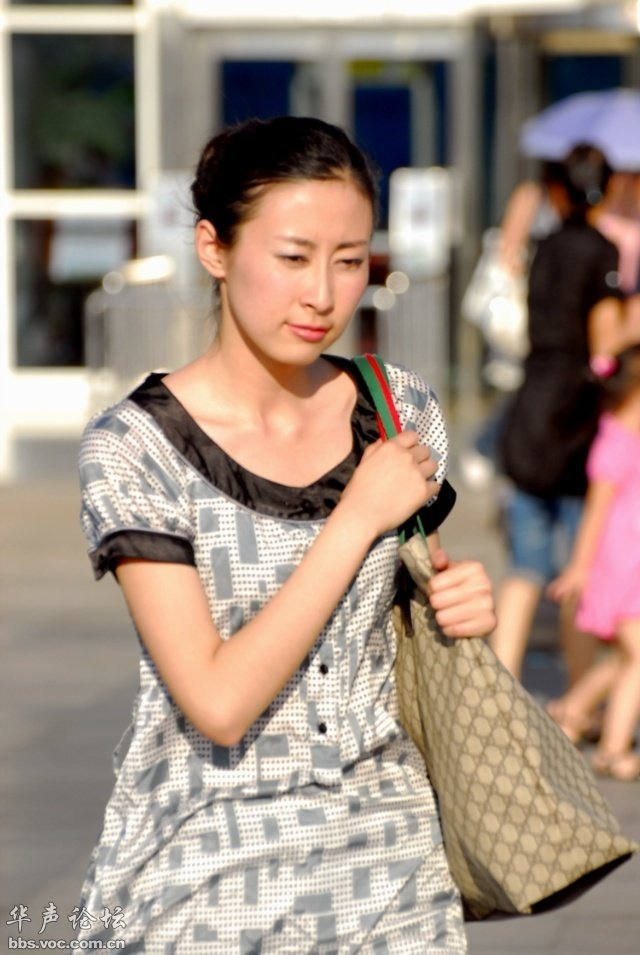 清纯可爱的厦门街头优质美女! 美女贴图