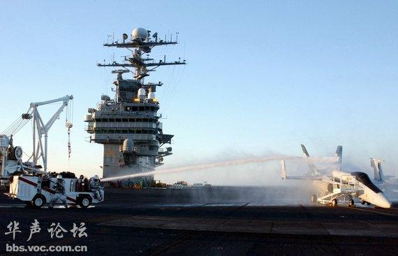 美军航母可高速冲入中国的京津咽喉