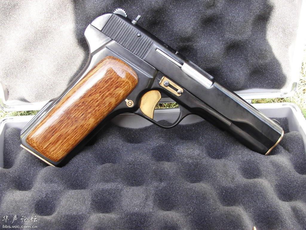 北方工业外销的罕见54手枪应该是豪华升级版