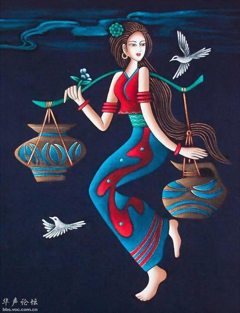 经典葫芦丝曲 月光下的凤尾竹