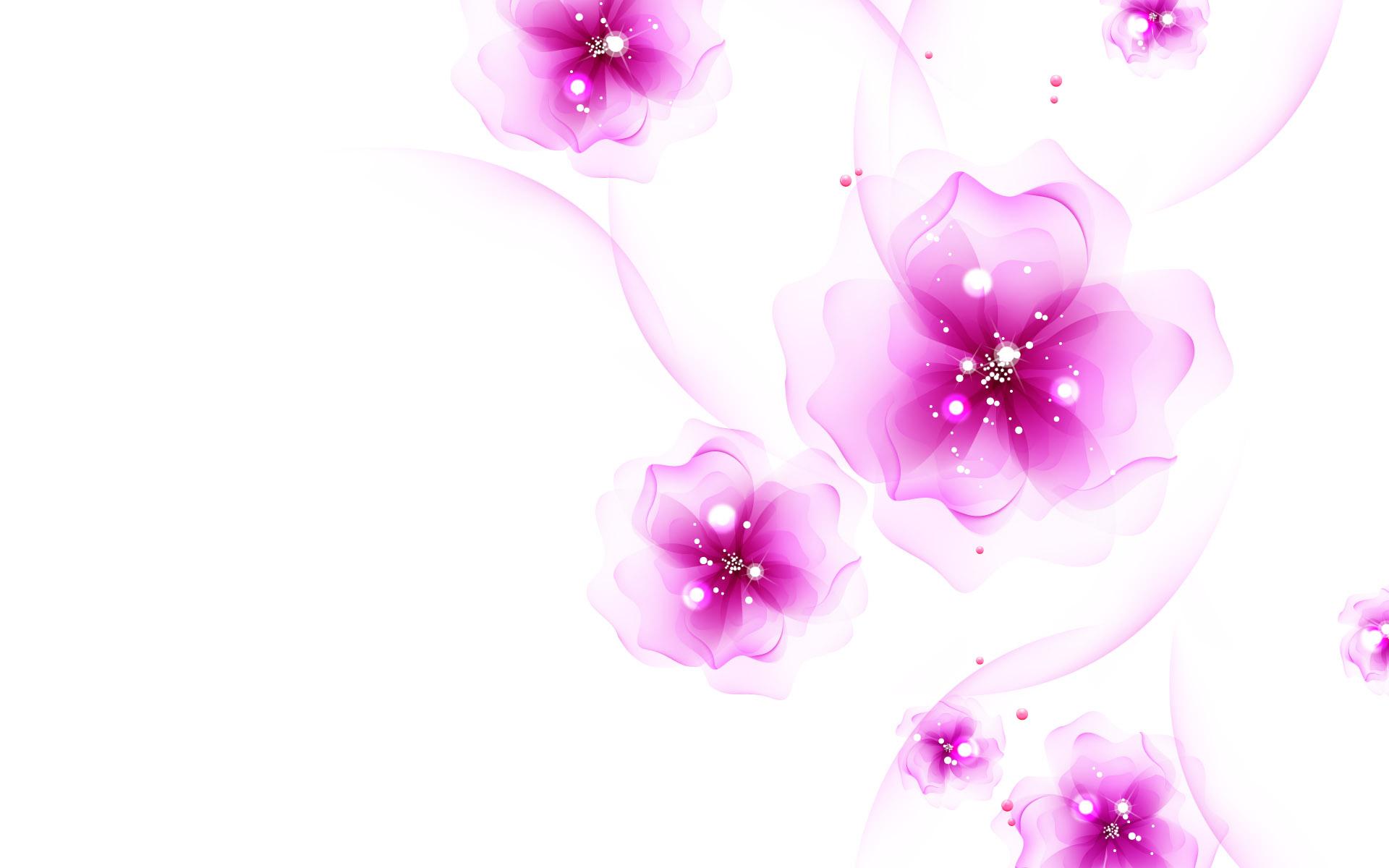 Pink flower background 1377212 -