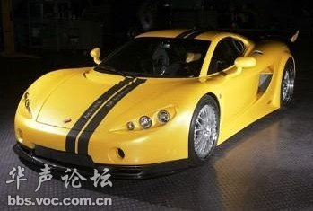 世界上十大最快最帅的跑车 绝对给力图片