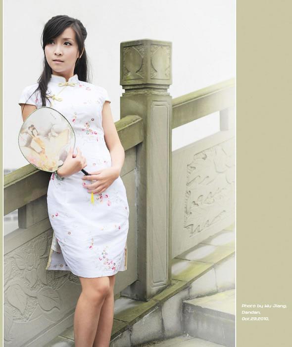 欣赏2011年最给力的旗袍美女图片!赞! 绝美图