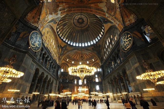 圣索菲亚教堂在哪_土耳其纪行·伊斯坦布尔文化之旅(第二页) - 异域风情 - 华声论坛