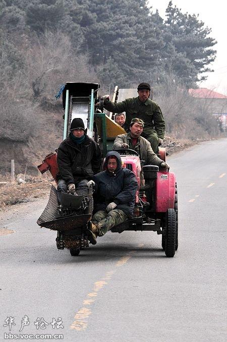 史上最牛的四轮拖拉机和摩托车