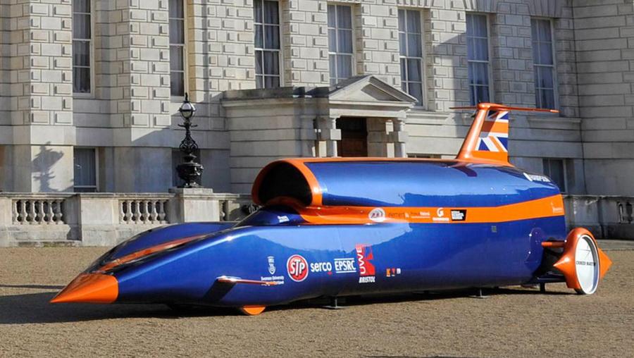 9公里的超音速汽车(简称SSC)-英研发展出时速1600公里的超音速图片