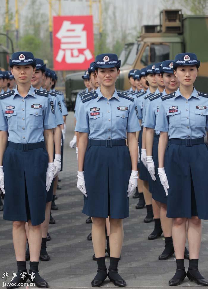 中国人民解放军预备役女兵风采录  - 往事如烟 - 往事如烟