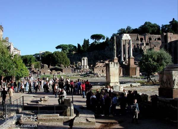 罗马城十大历史古迹图片