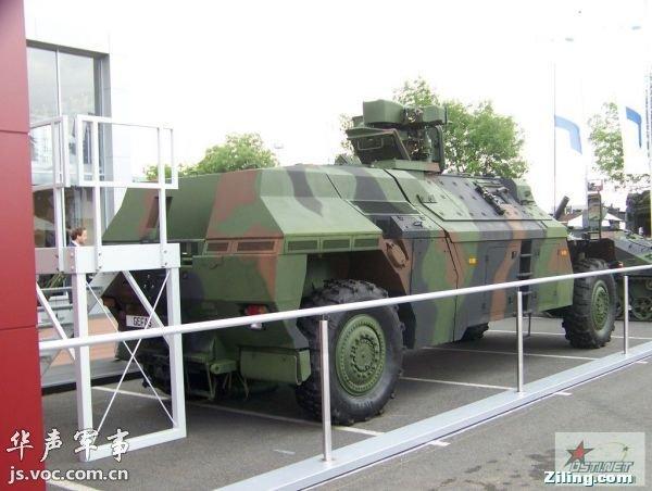 德国模块化装甲车