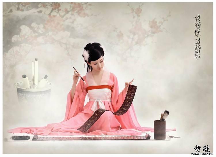 【ps大图教程】大图音画墨梅情教程素材效果 - ps玫瑰教程 - 音画茶苑