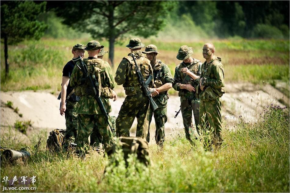 实拍特种部队的高风险训练全程图片