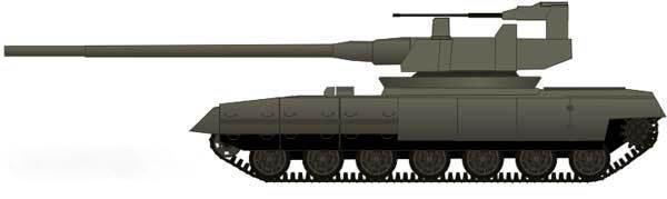 俄第四代T-95型主战坦克最新3D效果图 - 军事贴图 - 华声论坛 Объект 477 Молот