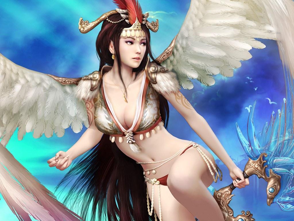 网络游戏美女_神鬼世界十国美女图集欣赏图片_网络游戏下载