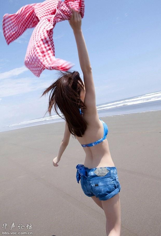 沙滩清凉小美女 - Llq·Mlq·梦 - 梦幻人生家园