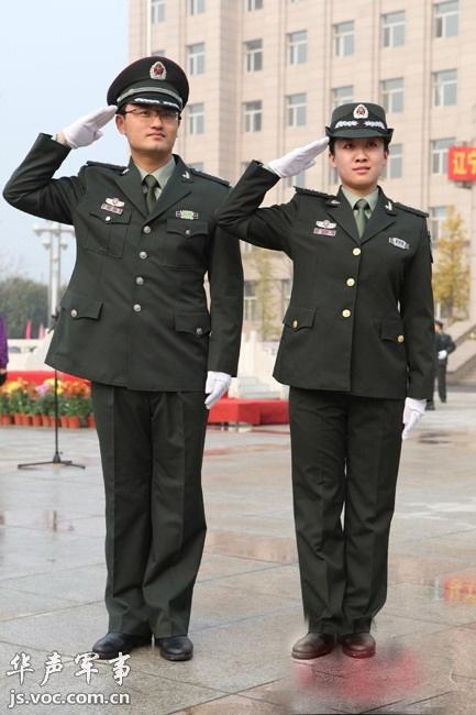 辽宁陆军预备役军人换发07式预备役军装