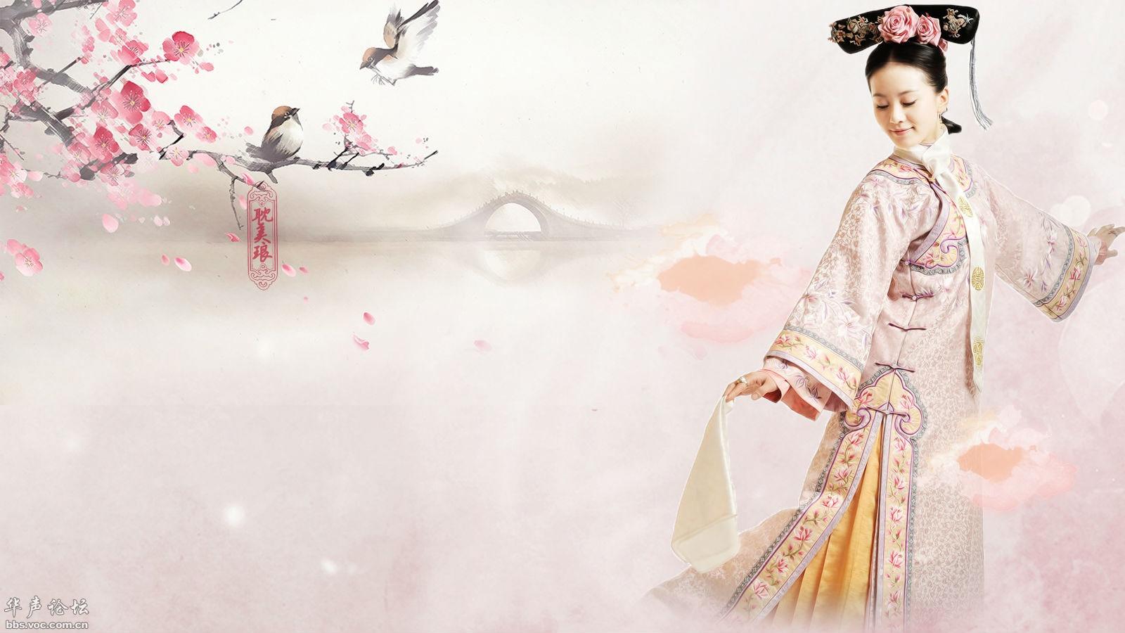 刘诗诗古装写真壁纸高清图片