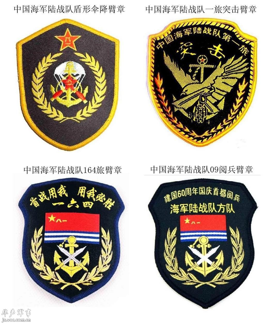 中国特种部队臂章大全