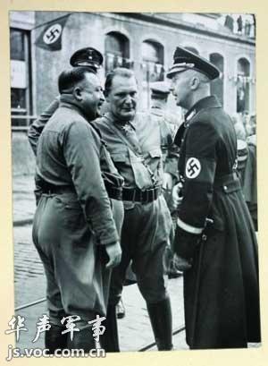 """""""懦弱""""的纳粹士兵"""