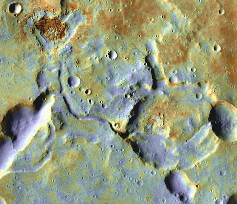 示火星近期有过地震图片