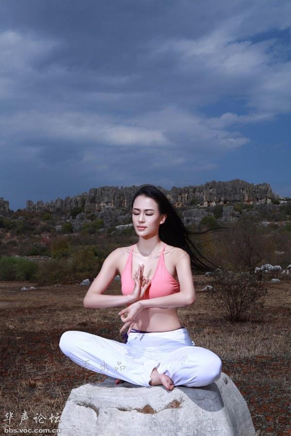 瑜伽第一美女 母其弥雅最新性感写真